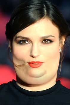 Carey Mulligan and Keira Knightley. | What Celebrities Would Look Like If They Were Fat