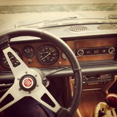 fiat | Tumblr Fiat 124 Spider, Fiat Abarth, Vintage Italy, First Car, Dashboards, Nice Cars, Fiat 500, Bella, Affair