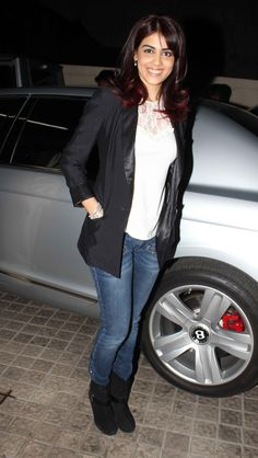 Genelia D'Souza at Movie Balak Palak Screeening.
