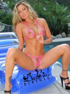 Dubio® Bikini Allure Extreme String Bikini   Etsy Sexy Bikini, Mini Bikini, Bikini Girls, Victoria, Spandex, Extreme Swimwear, Bikini String, Candid Girls, See Through Bikini