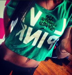 LOVE PINK St. Patty's Day shirt<3