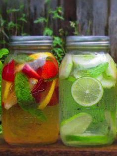 How to make healthy flavored water!