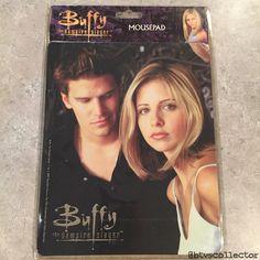 Buffy the Vampire Slayer - Buffy & Angel Mousepad. #btvscollector #btvs #buffy #buffythevampireslayer
