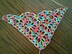 The triangular scarf 3
