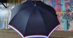 Parapluie Le Frenchie. La french touch sur un parapluie 100% made in France.