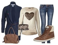 Casual outfit Love autumn