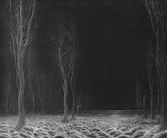 "neverstopthevortex: "" by Zdzisław Beksiński "" Arte Horror, Horror Art, Conceptual Art, Surreal Art, Nocturne, Arte Obscura, Creepy Art, Cool Art, Illustration"