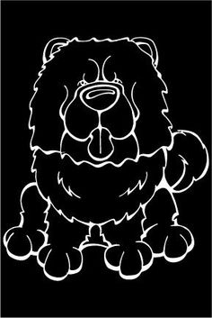Do you love your Chow Chow? Then a dog decal from Decal Dogsis what you need to celebrate yourbest friend. Every Dog Has Its Decal! The decal measures 4in. x