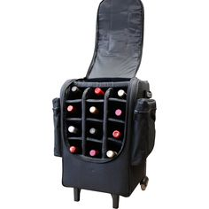 Rolling wine carrier?! Um, I need this! And what a deal…