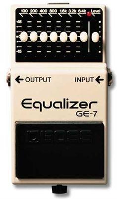 Boss EQ Bass pedal