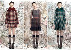 Chez Agnes: T is for #Tartan ¿Locos por los cuadros? esta es vuestra #Tendencia!!! arriba el #tartan !!!! http://www.chezagnes.blogspot.com.es/2013/09/t-is-for-tartan.html … #fashion #moda #trend #plaid