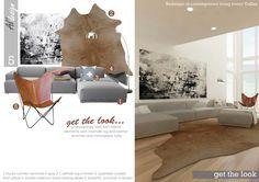 Living Room project in Dallas, US designed by Al'design team  - Redesign of contemporary living room - Dallas, TX