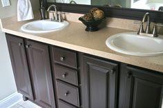 Rust-Oleum Countertop & Cabinet Transformations {Q} -