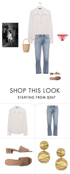 """""""take me to an adventure"""" by pieaah ❤ liked on Polyvore featuring Plein Sud, Marc by Marc Jacobs, Maryam Nassir Zadeh, Marco Bicego and STELLA McCARTNEY"""
