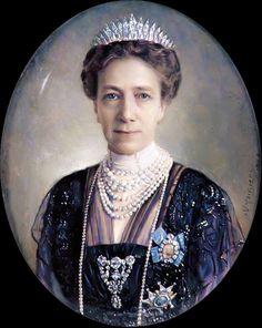 Medaillon der Viktoria Prinzessin von Baden und Koenigin von Schweden