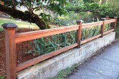 DAVE SNYDER......Real Estate......Portland, OR: Wire fence with wood frame