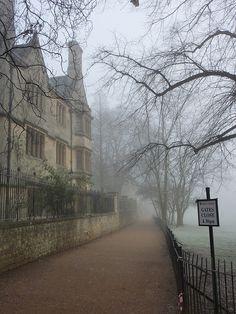 Christ Church Meadow, Oxford, England