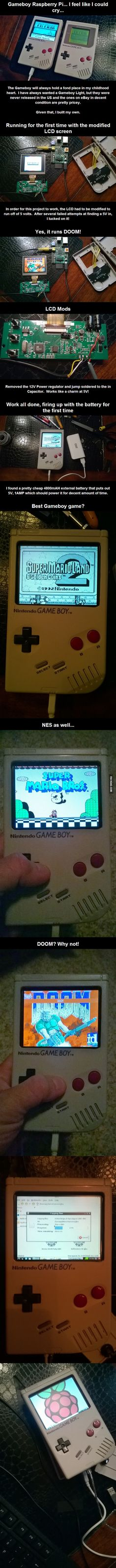 Raspberry Pi Game Boy