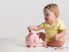 How to Raise Fiscally Responsible Children (and Grandchildren). Teach kids to save early and often. #kids #moms #dads #grandparents #parenting #grandparenting #intergenerational #finances #education