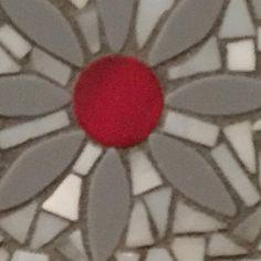 Mosaic Coasters. Hand cut glass on glass coasters. 3.5 Square