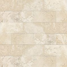12 In X 12 In Chiaro Tumbled Natural Stone Mosaic Subway