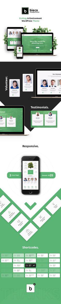 Bieco - Environment & Ecology WordPress Theme by modeltheme