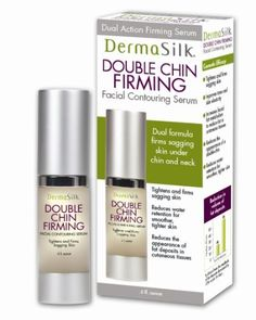 Dermasilk Double Chin Firming Serum, 0.5 Fluid Ounce by DermaSilk. $24.99. Reduces the appearance of a double chin. Improves tone and skin elasticity. Increases facial fat matabolism to reduce fat in cutaneous tissues. Reduces water retention and decreases the amplitude of fat deposits. Tightens and firms sagging skin. The neck can be one of the first areas to show signs of aging skin and the most difficult to treat. While sagging skin on our face and neck is caused by the ...