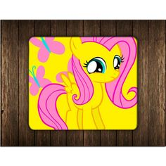 FLUTTERSHY BUTTERFLY MOUSE PADS
