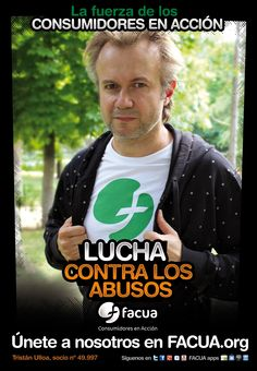 Tristán Ulloa, socio de FACUA nº 49.997, llama a los consumidores a la lucha contra los abusos