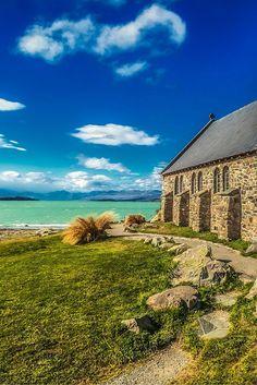 The Church of the Good Shepherd on Lake Tekapo on the South Island, New Zealand | The Planet D Adventure Travel Blog