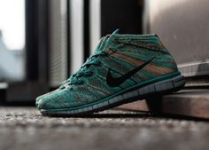 "Nike Free Flyknit Chukka ""Mineral Teal"""