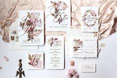 Roses Wedding Invitation Suite 2 - Templates