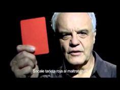Anuncio: Sácale tarjeta roja al maltratador