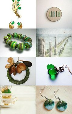 Natural green  by SHUNA on Etsy--Pinned with TreasuryPin.com