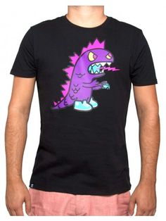 Purple Kaiju Tee - Want! (Also, thanks a lot, Tokidoki, for making these designs available in womens!)