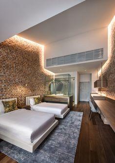 Loke Thye Kee Residences, à Georgetown Penang, construit à travers l'un des cinq grands sites malaisiens classés à l'UNESCO. Par l'agence Ministry of Design