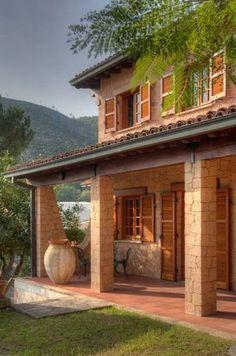 Casas de estilo rústico por Emilio Rescigno - Fotografia Immobiliare #casasrusticasdecampo