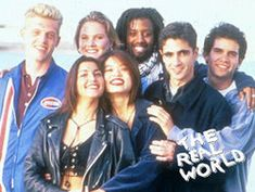 The Real World reality show was the first reality-based series to appeal to an enormous televison audience, premiered on mTV in 1992.  http://en.wikipedia.org/wiki/The_Real_World:_San_Francisco