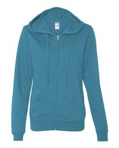 Your friends and family will be jealous of you when you wear the Juniors' Full-zip Hooded Sweatshirt! The sweatshirt is made with 6.5 oz., 60/40 cotton/polyester. The product features split stitch double-needle sewing throughout, split-front pouch pocket, flat drawcord, 1x1 rib-knit cuffs and waistband as well as an unlined hood. The item is offered in a variety of sizes and available in black, charcoal heather, gunmetal heather and white. Blank product.