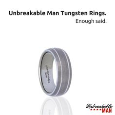 There's a reason our tungsten rings are the way forward. Tungsten Mens Rings, Tungsten Wedding Rings, Rings For Men, Shopping, Men Rings, Tungsten Wedding Bands