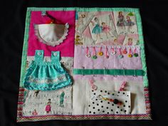 Crafty Seamstress - Fidget Quilt- Tactile - Bright & Colorful- Fun for Alzhiemer Patients