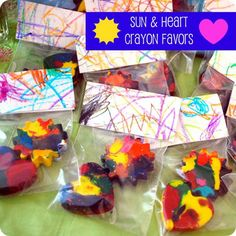 crayon party favors