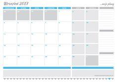 Planner na WRZESIEŃ 2017 do wydrukowania - Design Your Life
