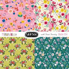 Miriam Bos | Surtex flyer 2015 | Make it in Design