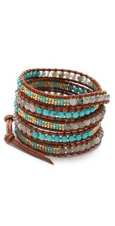 Chan Luu Two Tone Wrap Bracelet | SHOPBOP