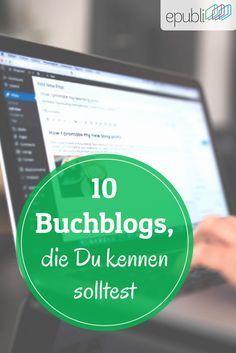 Wir stellen Euch 10 Buch- und Rezensionsblogger vor, die Autoren kennen sollten http://www.epubli.de/blog/buch-und-rezensionsblogger #epubli #schreibtipps #buchmarketing