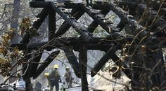 Newsela   Winter was no picnic at summer camps working to fix California fire damage