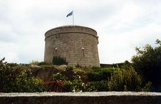 Martello Tower, Sandycove. The setting for the beginning of Ulysses.