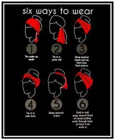 to Create a Hairstyle with a Bandana Six easy ways to wear a scarf, including some simple rockabilly hair styles.Six easy ways to wear a scarf, including some simple rockabilly hair styles. Ways To Wear A Scarf, How To Wear Scarves, Wearing Scarves, Curly Hair Styles, Natural Hair Styles, Rockabilly Fashion, Rockabilly Hairstyle, Rockabilly Nails, Retro Hairstyles