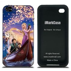 Amazon.com: Disney Tangled Case Cover for iPhone 4 4S Series IMCA-CP-ZLS11571: Cell Phones & Accessories